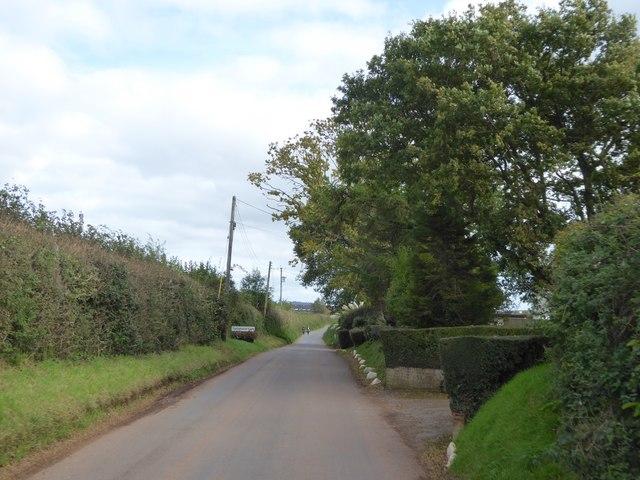 Village sign for Thorverton