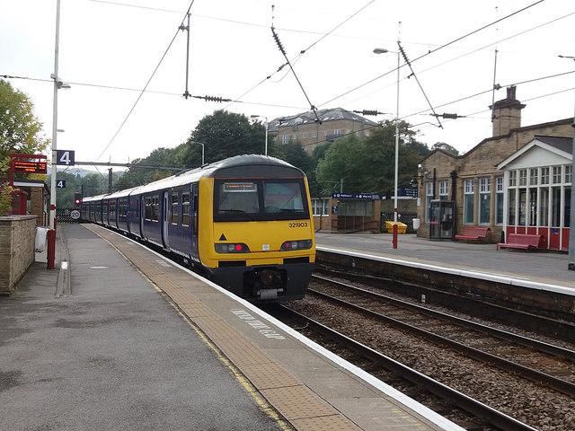 Shipley railway station - Platform 4