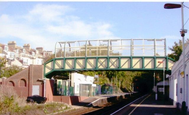 London Road, Brighton station, 2001