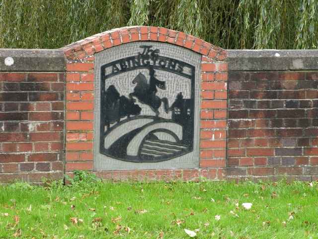 The Abingtons joint village sign