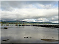 C4822 : Jetties in Lough Foyle at Coolkeeragh by David Dixon