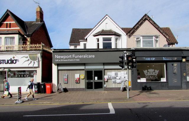 Newport Funeralcare, Caerleon Road, Newport