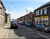 SS9892 : East along Clydach Road, Clydach Vale by Jaggery