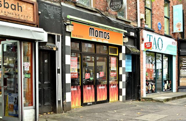 """""""Momos"""", Belfast (October 2017)"""