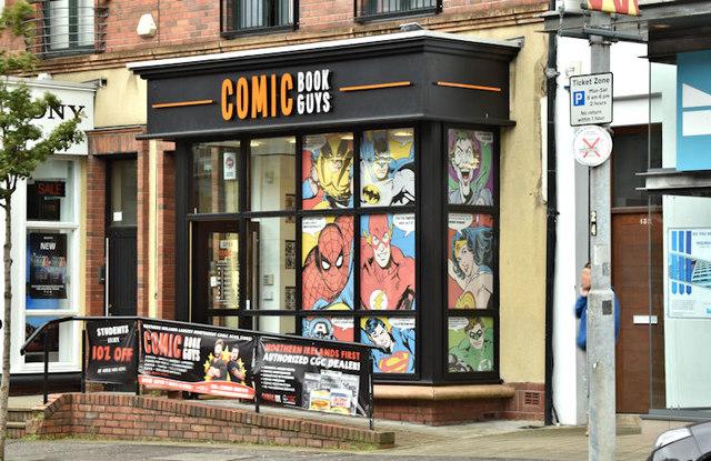 """""""Comic Book Guys"""", Belfast (October 2017)"""