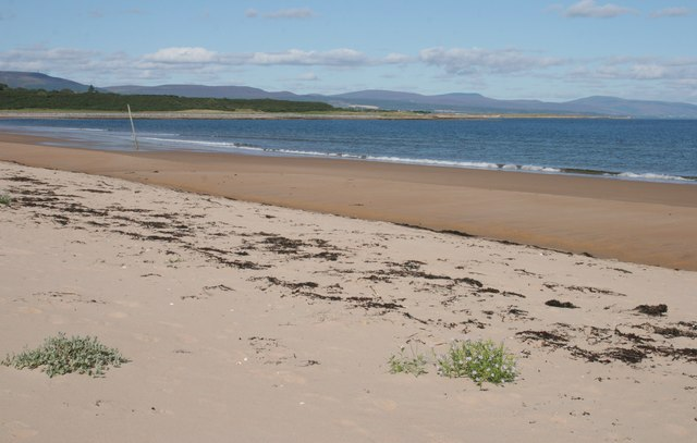 Sandy shore, Dornoch