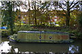 TL4612 : Narrowboat in need of TLC, below Harlow Mill Lock by Christopher Hilton