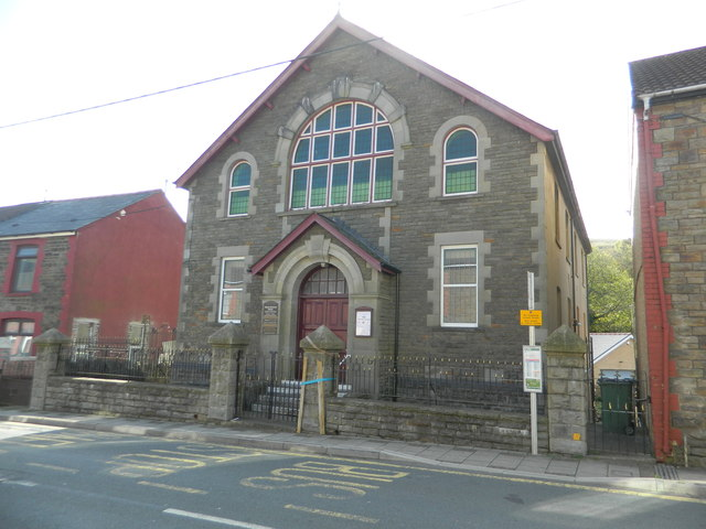United Reformed Church, Commercial Rd, Senghenydd