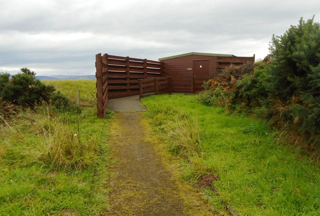 Hide, RSPB Nigg Nature Reserve