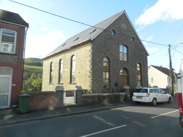 The former Seion Welsh Wesleyan chapel