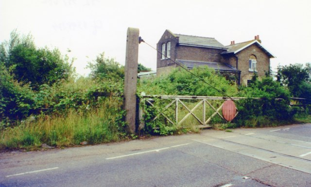Site of Long Stanton station, 2000