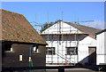 SU9383 : Snowball Farm buildings by Robert Eva
