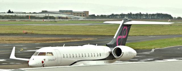N688ZJ, Belfast City Airport (October 2017)