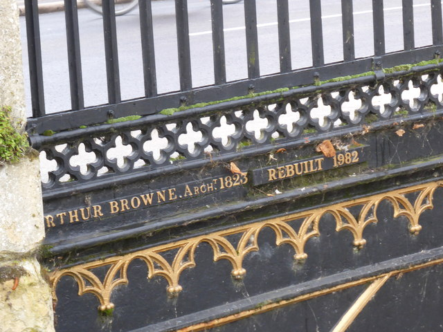 Inscription on the bridge