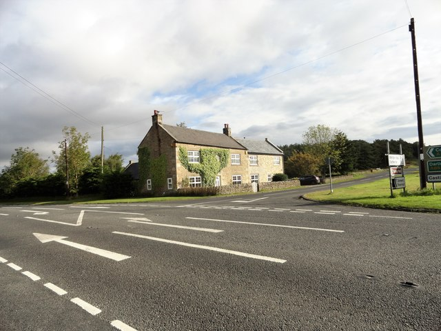 Crossroads at Kiln Pit Hill