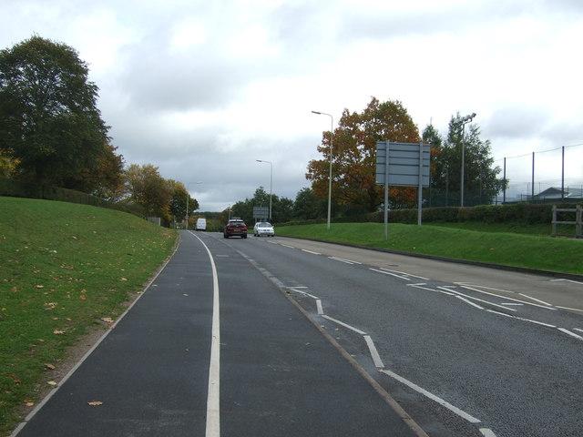 Weston Road (A518)