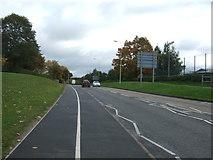 SJ9423 : Weston Road (A518) by JThomas