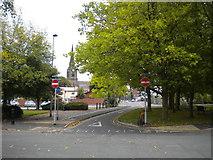 SO9098 : Eastern half of St Mark's Road, Wolverhampton by Richard Vince