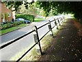 SP6075 : Raised pavement, High Street, Yelvertoft by Christine Johnstone
