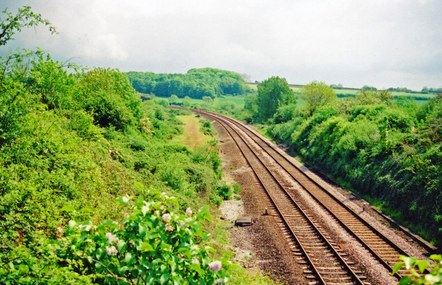 Site of Long Sutton & Pitney station, 2001
