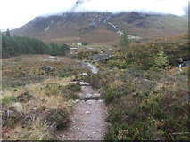 NN2256 : Footbridge on West Highland Way by David Brown