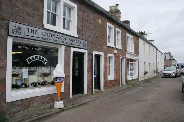The Cromarty Bakery, Bank Street, Cromarty