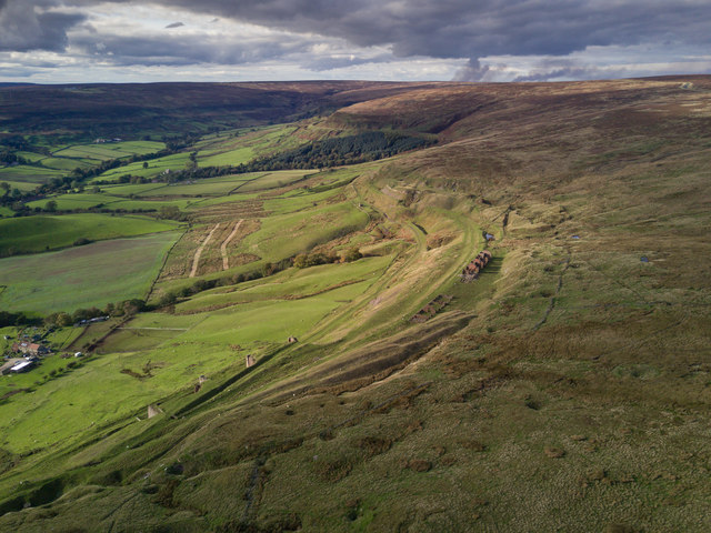 Ruined Terrace and East Mines