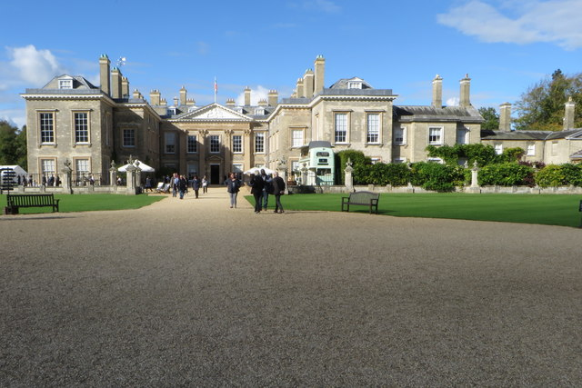 Althorp House during the literary festival