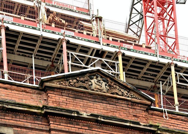 The Swanston Hall site, Belfast - October 2017(2)