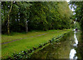 SK1213 : Trent and Mersey Canal south-west of Fradley Junction, Staffordshire by Roger  Kidd
