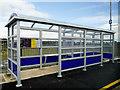 C6631 : Passenger Shelter at Bellarena by David Dixon