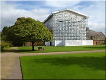 ST2885 : Tredegar House under scaffolding by Philip Halling