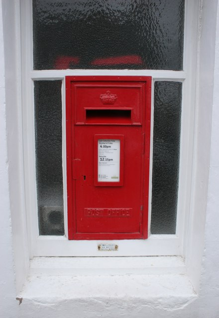 Postbox, Cromarty Post Office