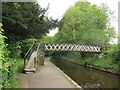 SJ2642 : Footbridge over the Llangollen Canal by Stephen Craven