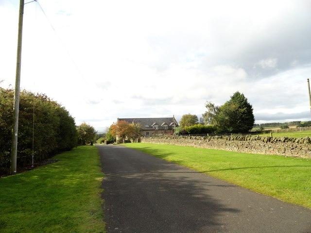 Old road at Kiln Pit Hill