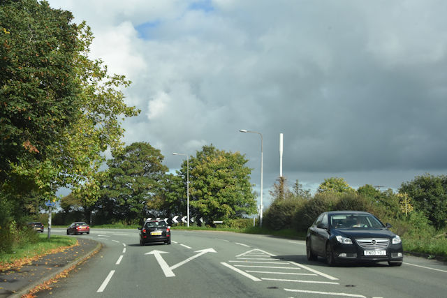 A41 at Duttons Lane junction