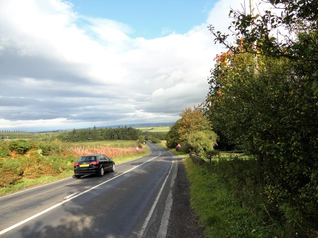 A68 north of Kiln Pit Hill