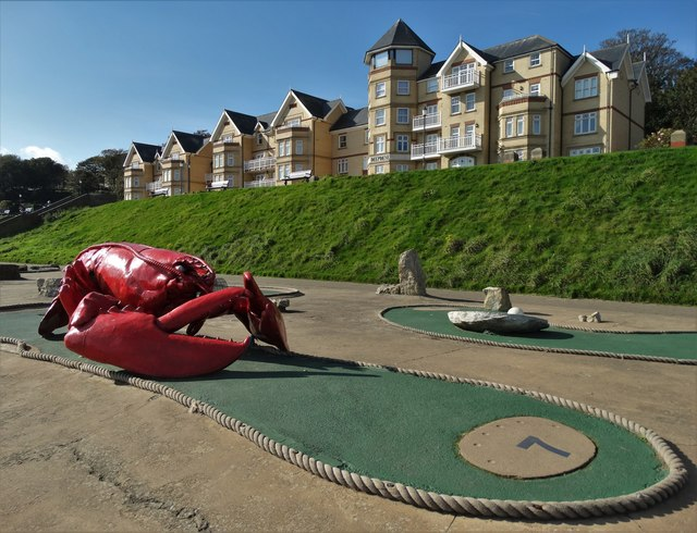 Giant lobster on Filey seafront