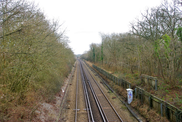 Redhill - Tonbridge railway