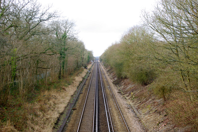 Redhill - Tonbridge railway
