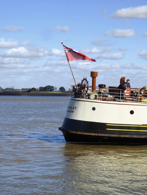 Paddle-steamer 'Waverley' at Gravesend