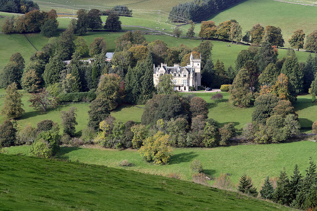 Glenmayne House near Galashiels