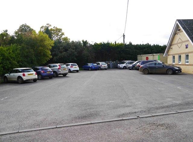 Car park off Oak Street, Lechlade on Thames, Glos
