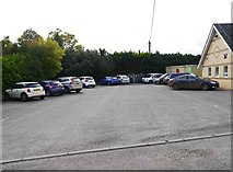 SU2199 : Car park off Oak Street, Lechlade on Thames, Glos by P L Chadwick