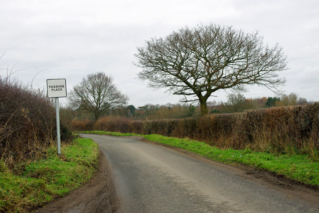 Passing place, Popes Lane