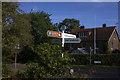 SU9585 : Signpost at Beeches Road by Robert Eva