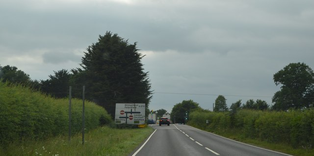 A272 approaching A24