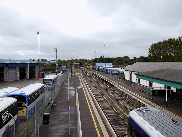 Coleraine Railway Station and Ulsterbus Depot