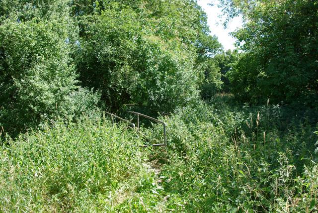 Footbridge near Denshot Farm