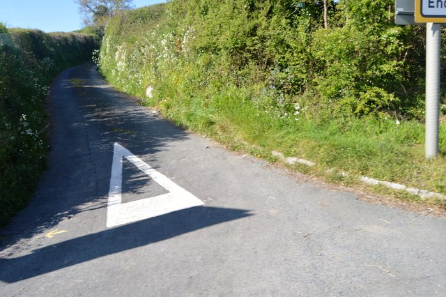 Narrow cornish lane
